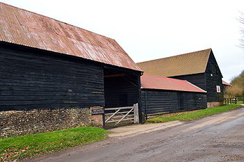 Corner Farm Barns January 2013
