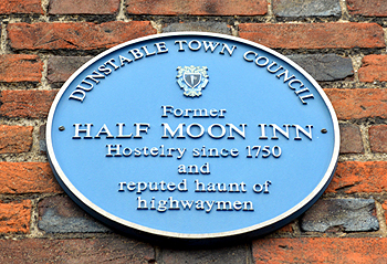 Plaque on the Half Moon February 2013