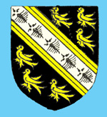 The Wingate family coat of arms