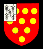 The Zouche family coat of arms