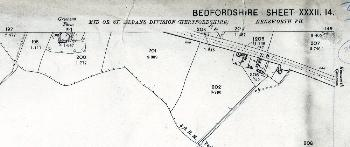 The area around 199 to 215 Common Road in 1901
