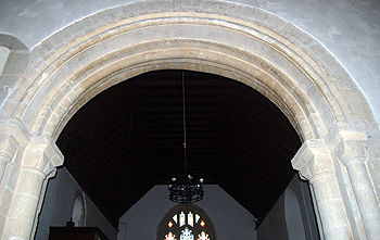 The chancel arch June 2012