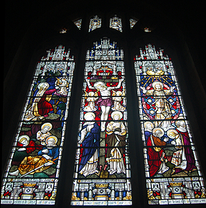 The chancel east window June 2012