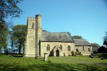 The church from the south August 2007