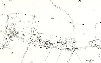 Western Lynch Hill and eastern Common Road 1901