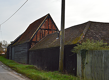 Barns at Brook End Farm March 2016