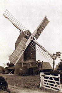 Keysoe windmill about 1920 [BHRS]