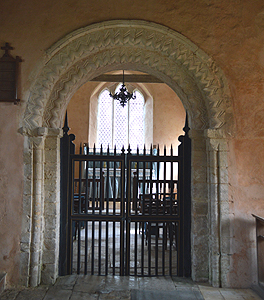 Chancel gates March 2014