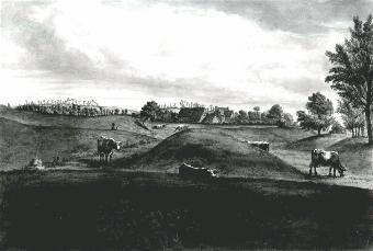 Site of Grove Priory about 1812