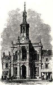 The Corn Exchange in an Illustrated London News engraving of 1863