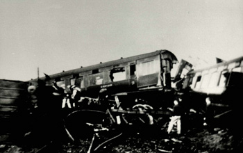 Crash of the Grenadier Guardsman near the station 22nd March 1931