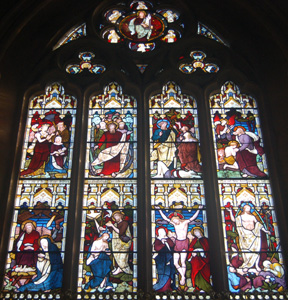 East window October 2008