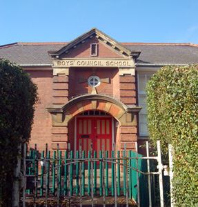 The former Linslade Boys Council School October 2008