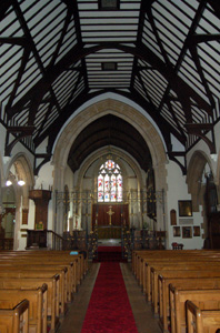 Nave looking east October 2008