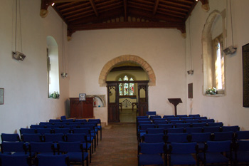 Saint Marys interior looking east May 2008