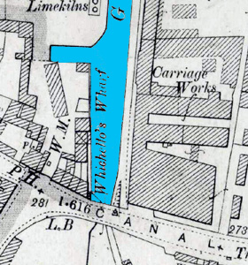 Site of Whichellos Wharf 1901