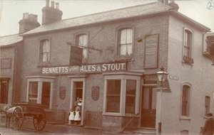 Stags Head Linslade c1906 Z50-74-28