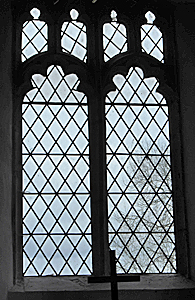 South aisle window March 2017