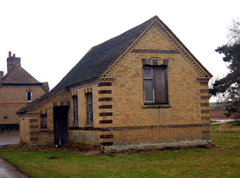 The former Little Barford Council School February 2010
