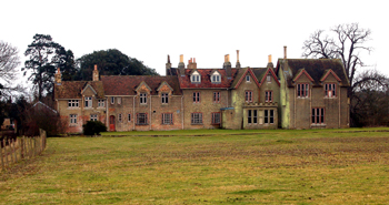 The rear of The New Manor February 2010