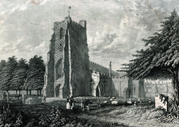 Saint Mary's in 1805 [X254/88/170]