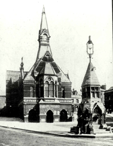 The Corn Exchange about 1919 [Z50/75/95]