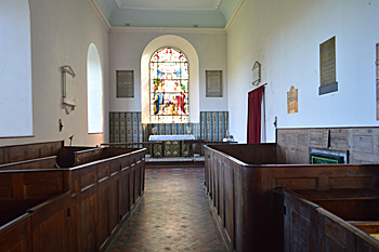 The chancel October 2015