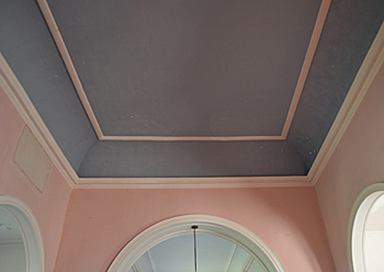 The colour scheme of the interior October 2015