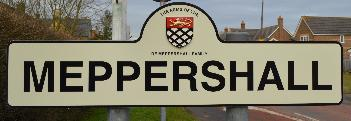 Meppershall sign