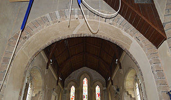 The chancel arch September 2014