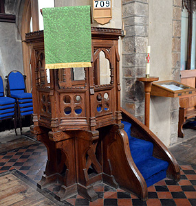 The pulpit September 2014