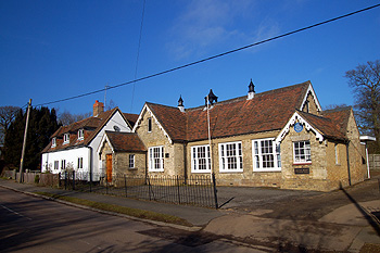The old school and schoolhouse February 2012