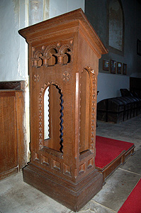 The lectern August 2007