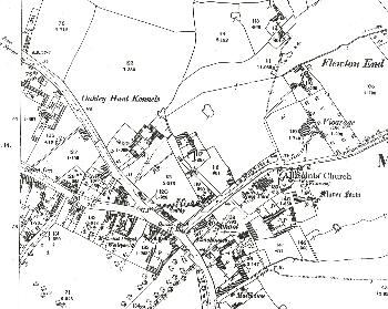 The main part of the village 1901
