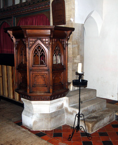 The pulpit February 2011