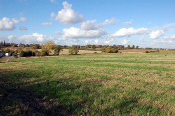 Countryside south of Mogerhanger October 2009