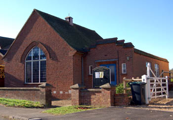 The Methodist chapel in November 2007