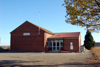 Village Hall (built 1977) possibly on the site of the old Wesleyan Methodist meeting