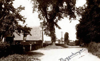 the village about 1930