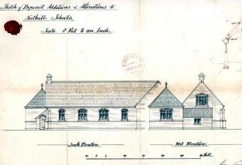 AD3865-32-3 Elevation of National School