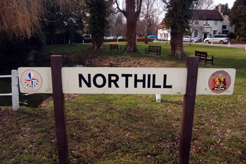 Northill sign March 2010
