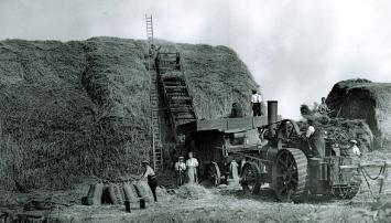 Z50-84-77 threshing process 1939