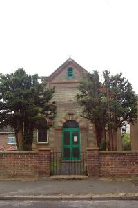 The former Wesleyan chapel July 2007