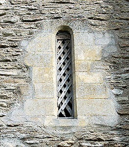 Norman window in the tower August 2011