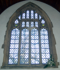 The chancel east window March 2011