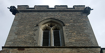 The 15th century top of the tower August 2011