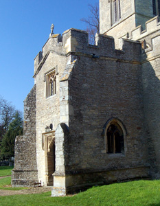 The south porch March 2011