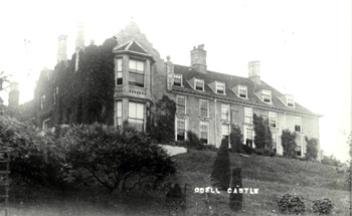 Odell Castle about 1920