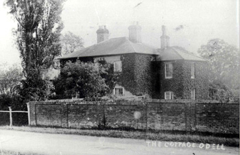 The Lodge, then called The Cottage, about 1920
