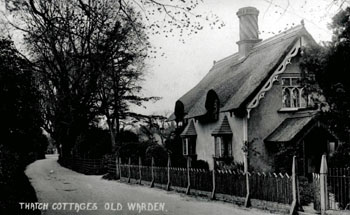 41 High Street The Thatched House about 1920